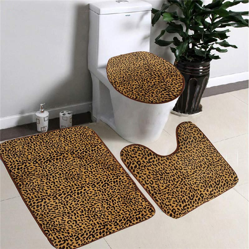 popular leopard bath rugsbuy cheap leopard bath rugs lots from, Home design