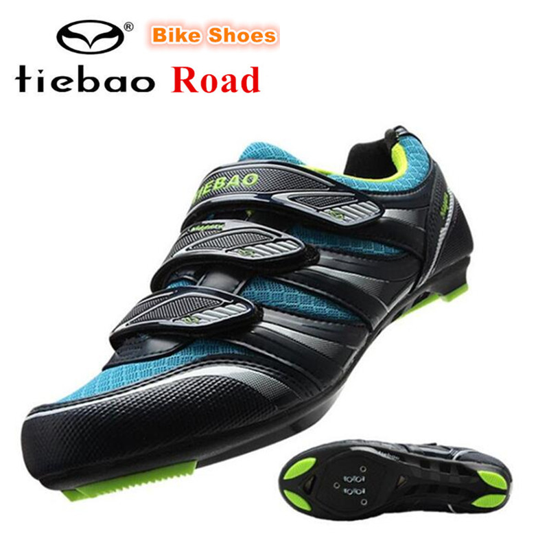 TIEBAO Breathable Cycling Shoes 2018 Bike Shoes Men sapatilha ciclismo Road Highway Bicycle Shoes Non-slip Sapatos de ciclismo racmmer cycling gloves guantes ciclismo non slip breathable mens
