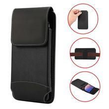 Sac de taille de téléphone portable pour hommes en tissu Oxford Durable pour iPhone 11 Pro SE Xs Max XR X 8 7 6 6S Plus housse de étui pour téléphone