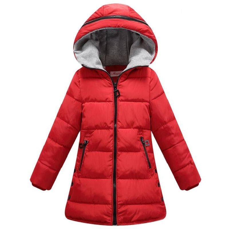 2018 Girls Clothes 10 12 Years Boys Girls Winter Clothing Jackets Children Coat Kids Outerwear Teenager Hooded Coat Costume Sale new year costume 13 girls and boys winter down jacket 12 children christmas costume 11 years old children s clothing 10 years
