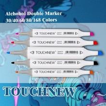 Лучшие TOUCHNEW Книги по искусству Mark алкоголь маркером растворимые Ручка C Книги по искусству Ун граффити Книги по искусству эскиз маркеры для дизайнеров Manga маркеры