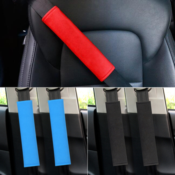 Car Sefety Seat Belt cover Child Shoulder Protection Pads For BMW m3 m5 e46 e39 e36 e90 e60 f30 e30 e34 f10 e53 f20 e87 x3 x5 image