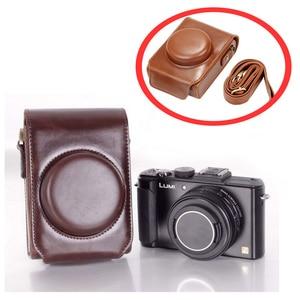 Image 5 - PU leather case Camera Bag Cover for Panasonic Lumix LX7 LX5 LX3 LX10 LX15 shoulder bag