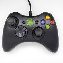 USB геймпад геймпады для microsoft Xbox 360 консоли для ПК Windows проводной геймпад