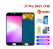 J730 LCD Display 5.5 inch For Samsung Galaxy J7 Pro 2017 LCD J730 J730F LCD Screen Touch Screen Digitizer Assembly J730F J730GM au15 inch t150xg01 lcd screen