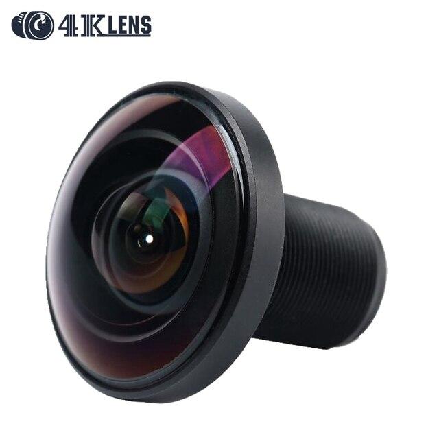 4 K LENTE de 1.21 MM IR Lente Fisheye 220D 1/2. 3 Polegada 16MP S de Montagem para 360 Visão Gopro Câmera VR Frete Grátis Hot