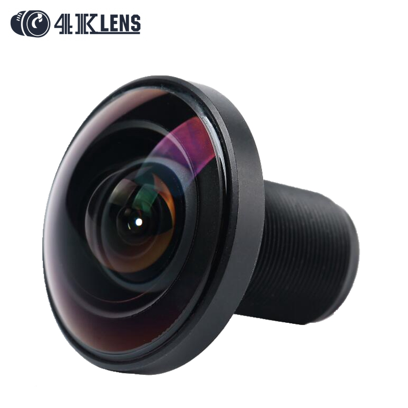 4K LENS 1.21MM Lens IR Fisheye 220D 1/2.3 Inch 16MP S Mount  for 360 View Go pro Camera VR Free Shipping Hot fisheye lens for go pro 1 2 3 16 megapixel 1 2mm 220 degree super lens for gopro hero 4 3 3 black silver edition accessories