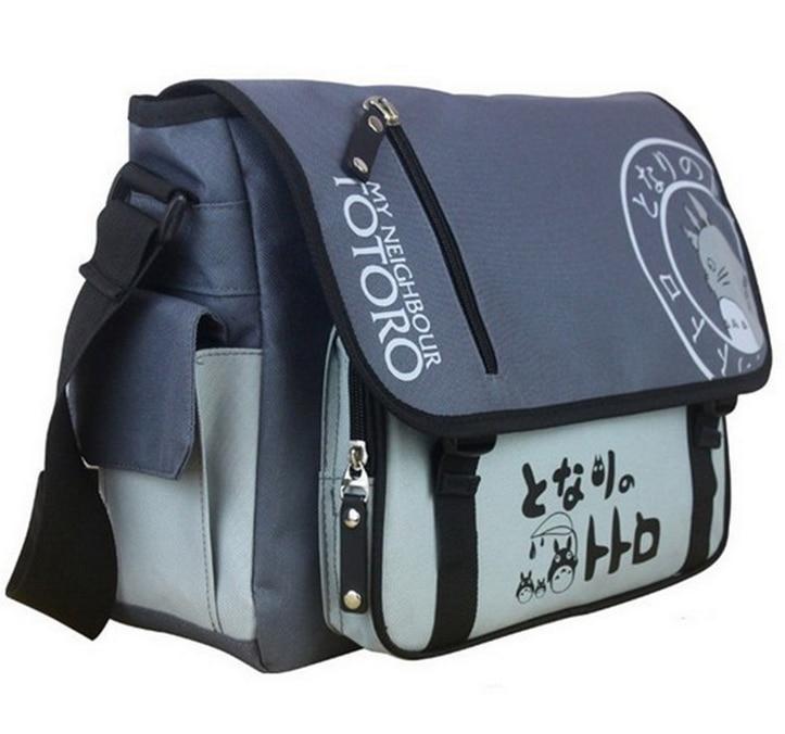 2018 New Tonari no Totoro My Neighbor Totoro Messenger Bags Sling Pack School Bags Durable Anime Travel Bag