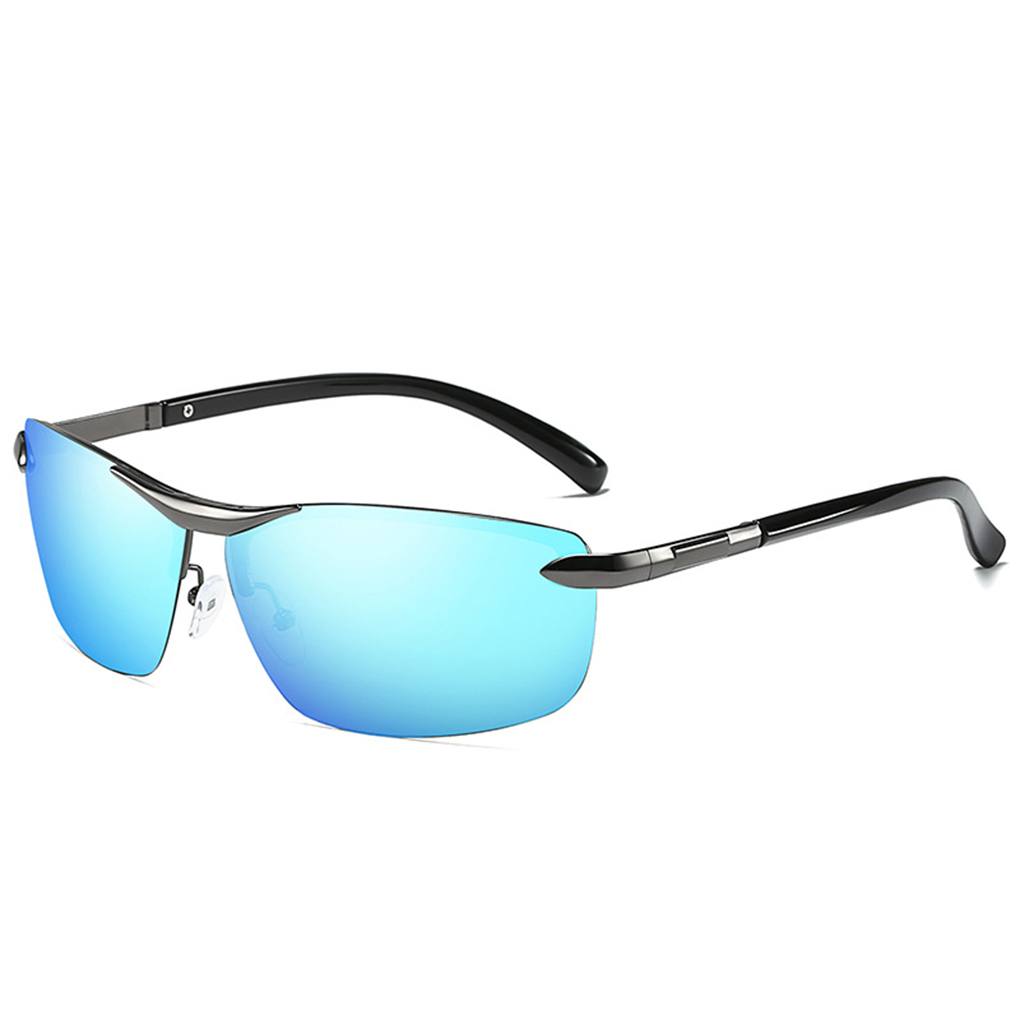 2d9363c6a670 Coolsir Men Polarized UV400 Protection Square Shaped Sunglasses Eyewear  Alloy Frame Driving Eyeglasses-in Sunglasses from Men s Clothing    Accessories on ...