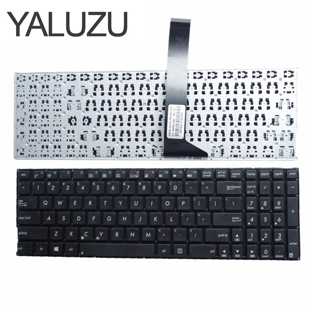 YALUZU New For ASUS X550 X550C X550CA X550CC X550CL X550D X550E X550J X550L X550M US Layout Laptop Keyboard Black