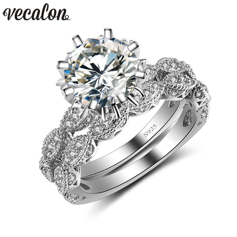 online get cheap vintage engagement wedding ring sets -aliexpress