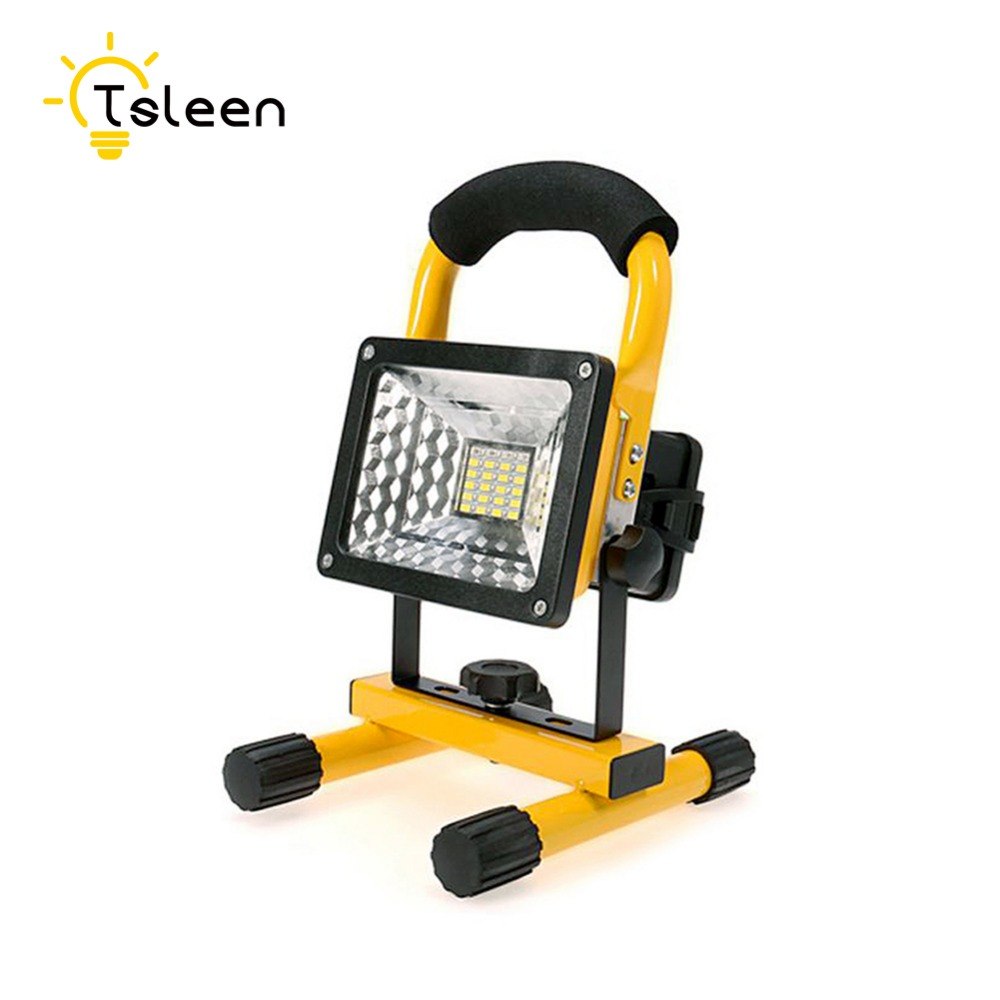 TSLEEN Led Outdoor Light Floodlight 20W 30W 5 Models Waterproof LED Flood Light Portable Spotlight  Dimmer Lamp LED light bulb free shipping led flood outdoor floodlight 10w 20w 30w pir led flood light with motion sensor spotlight waterproof ac85 265v