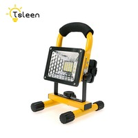 2017 Led Outdoor Light Floodlight 20W 30W 5 Models Waterproof LED Flood Light Portable Spotlight Dimmer