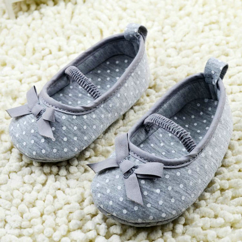 Moccasin Newborn Baby Girl Shoes High Quality Bowknot Baby Shoes Infant Girls First Walkers Cotton 0-18 Months