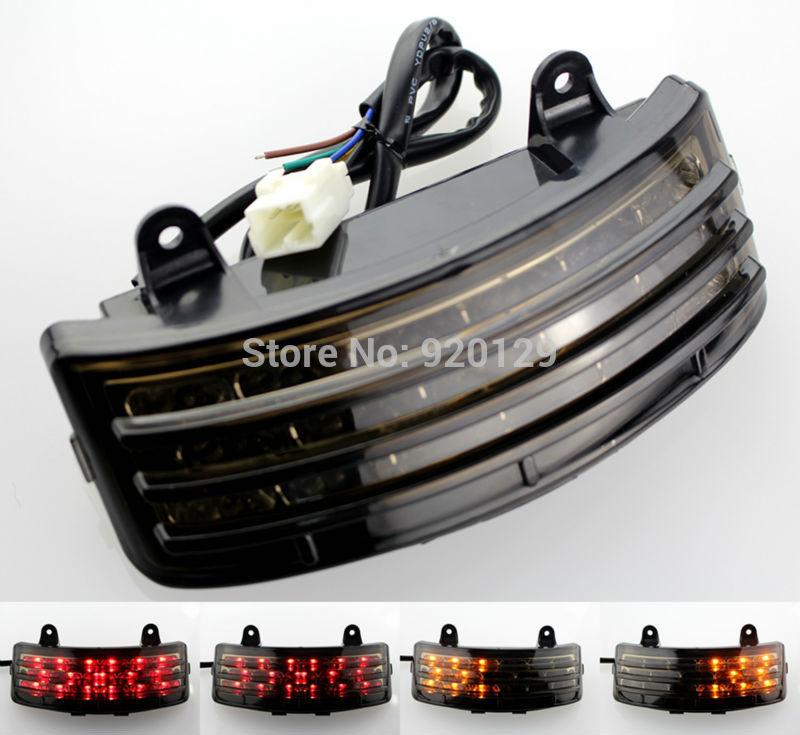 UNDEFINED LED Motorcycle Turn Signal Tail Brake Light Running Light Lamp For Harley Street Glide FLHX EFI FLHXI 2006-2008 2009