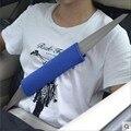 Крышка ремня безопасности для автомобиля Автомобильный комплект Автомобильной интерьера продукты Автомобильный ремень безопасности обложка Shouldersleeve пару загружен