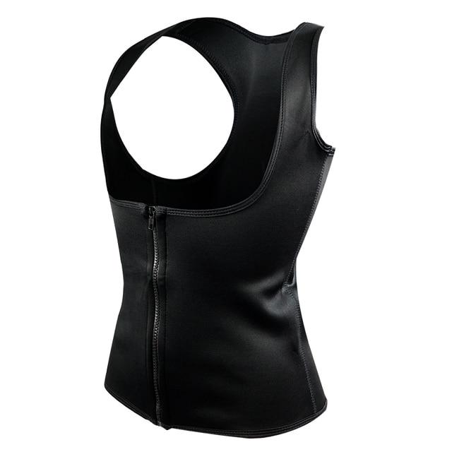 Waist Support Brace Belts Body Shaper Slimming Waist Trainer Zipper Vest Women Large Size Waist Trainer Corset Sweat Belt 2