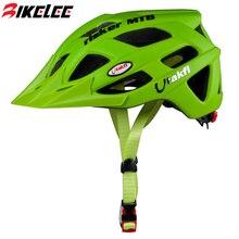 2015 Новый Горная Дорога Велосипед Шлемы козырек 23 Вентиляционные отверстия блеск Зеленый Велоспорт MTB Дорога Cascos Para Bicicleta Велосипед Зеленый шлем