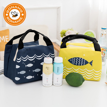 Bag Lunch-Bag Fish-Insulated-Cooler Women Large-Capacity Waterproof Portable Fashion
