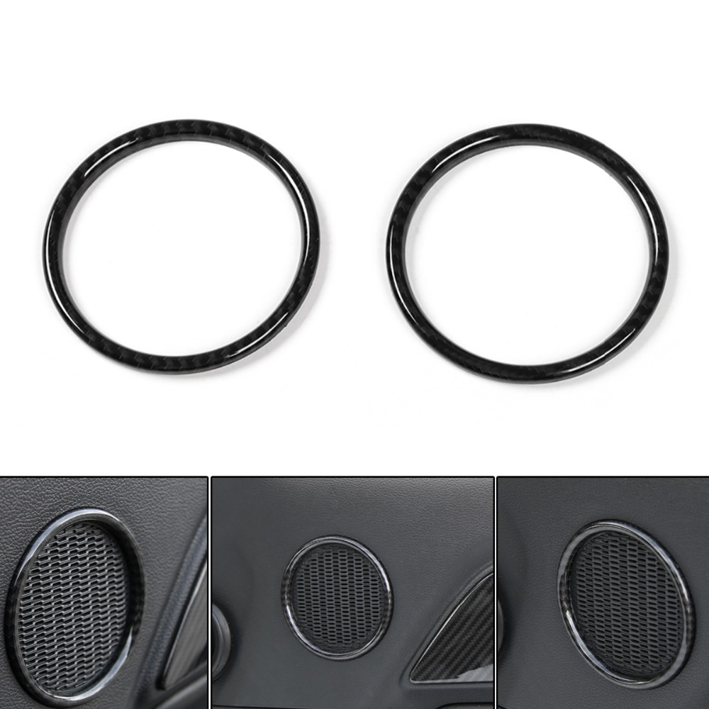Areyourshop Car Door Speaker Ring Trim Frame Cover Small