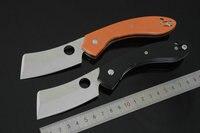 الحقل trskt C177G الساطور السكاكين الطي سكين vg10 بليد roc مقبض g10 الأسود سكاكين الصيد بقاء التخييم edc أداة