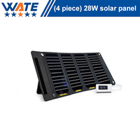 28W solar charger, liquid crystal display, monocrystalline silicon charging board, mobile phone camera, mobile power supply