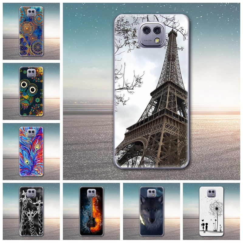For LG X Cam Case Soft Silicone TPU Luxury Phone Case Ultra Slim Art Design Pattern Painting Shell Case for LG X Cam