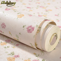 beibehang Modern PVC Small floral Wallpaper ROll Wall paper Luxury Classic For Living room TV Sofa background papel de parede