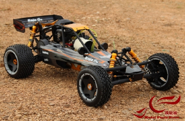 Free Shipping!!! MK 1/5 Gasoline BAJA remote control car Nylon Frame 26CC Engine цена