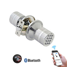 Digital Electronic Security Safety Bluetooth APP e-Keys Smart Lock for keyless Entry & Live Monitoring