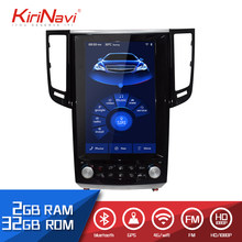 "KiriNavi 12.1"" HD Touch Display Android 6.0 For Infiniti FX35 Car Radio MP5 Audio GPS Navigation Monitor Multimedia Play(China)"