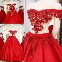 Ball Gown Evening Dress vestidos de fiesta longo Formal Dress 2017 Satin Dubai Kaftan Luxury Gown ZL83