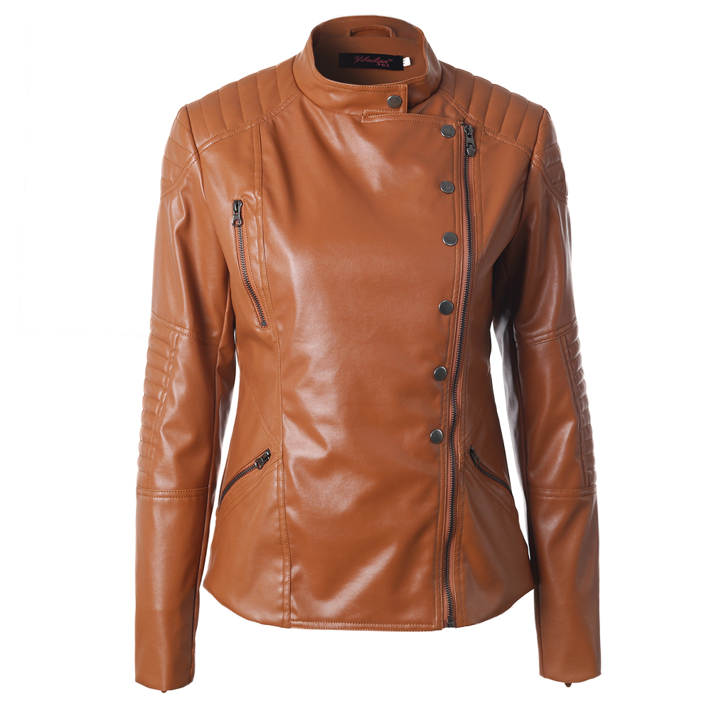 Online Get Cheap Women's Brown Leather Jacket -Aliexpress.com ...