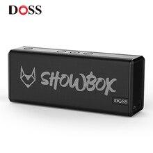 DOSS SHOWBOX Bluetooth динамик, звуковая система, портативный беспроводной динамик, стереозвук на 360 ° с басами/встроенным микрофоном, поддержка BT TF