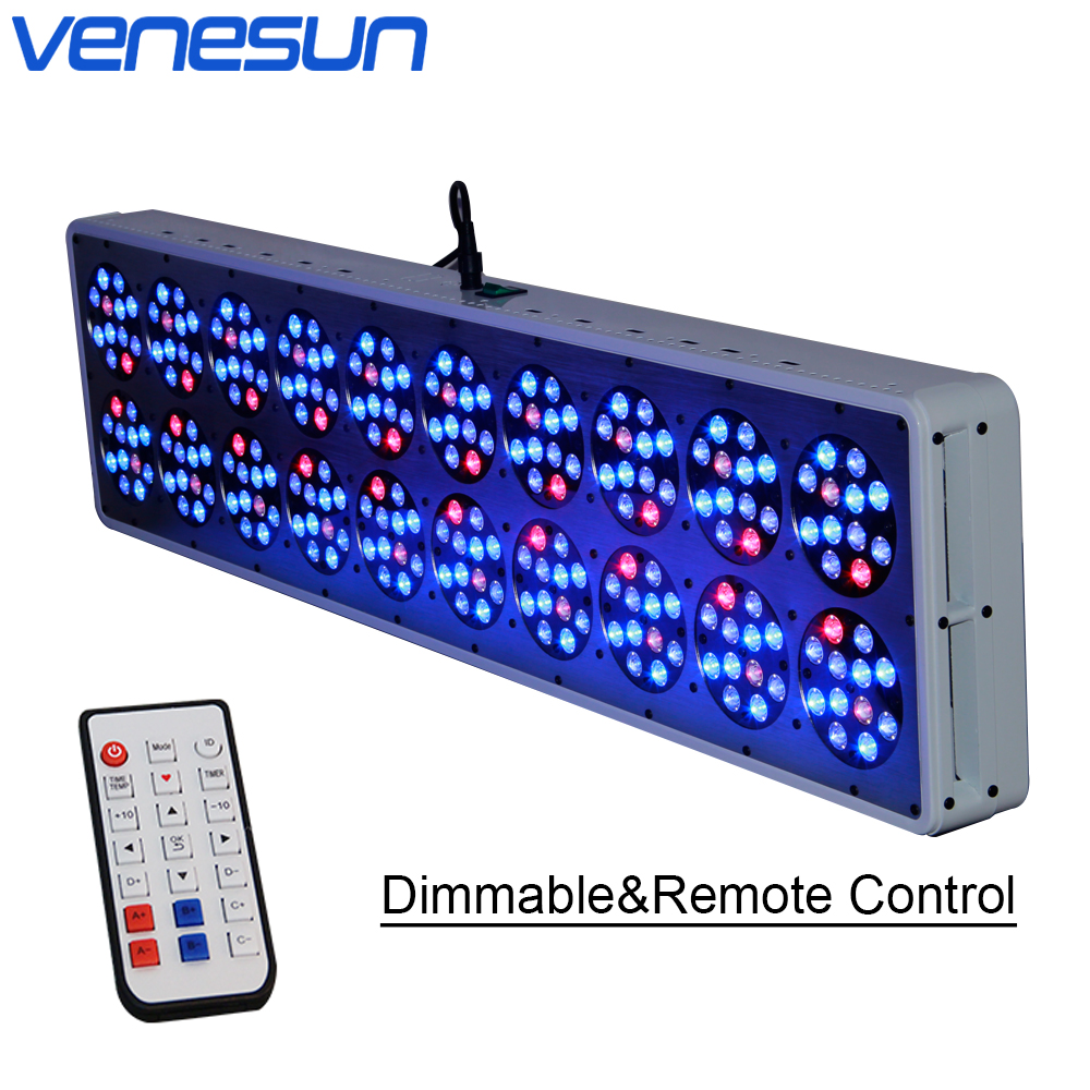 LED Grow Lamps Apollo 20 Dimmable Remote Control Full Spectrum Venesun Plant Grow Light For Indoor Plant Hydroponic Greenhouse
