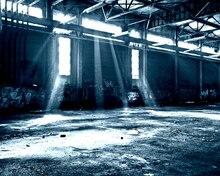 Fondo de fotografía escénica de Interior de fábrica Industrial, 450x450CM, Fondo de estudio de fotografía personalizado, utilería de cabina de fotos de tela