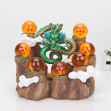 Dragon Ball Z Action figuren Drachen Shenron Anime Dragon Ball Z Sammeln Modell Spielzeug DBZ Mit Berg Regal
