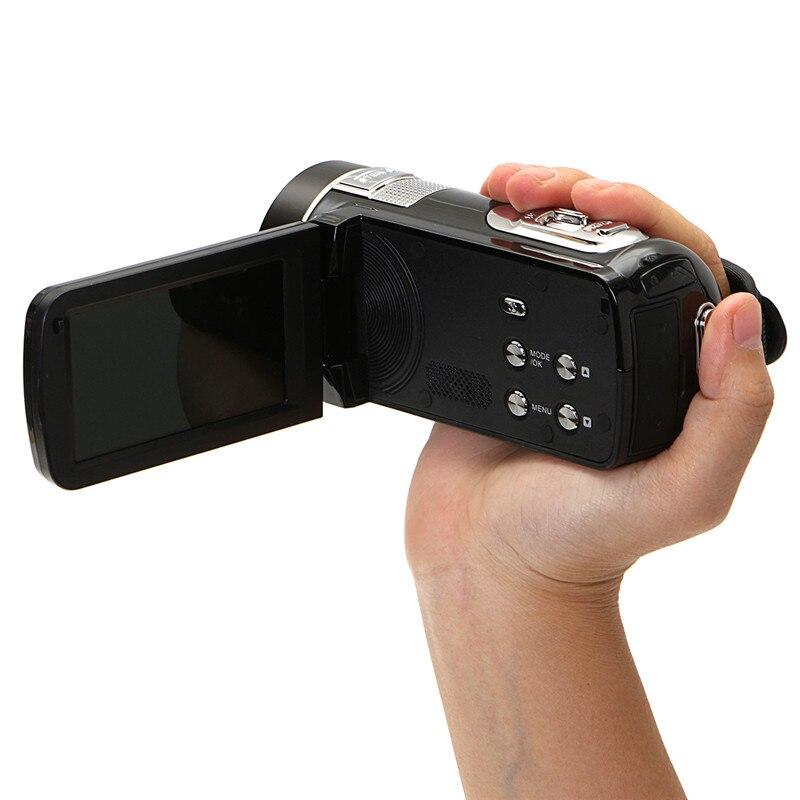 Caméscope vidéo HD à Vision nocturne infrarouge de 24 millions de Pixels caméra numérique 1080 P à main caméscope numérique à Zoom numérique caméscope DV - 5