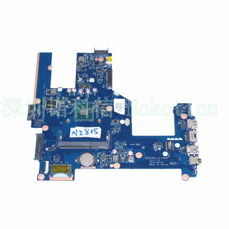 ZSO50 LA-A994P 759879-501 759879-01 for HP Compaq 15 15-R 15T-R 15-S Motherboard SR1SJ N2815 CPU onboard zso стандарт
