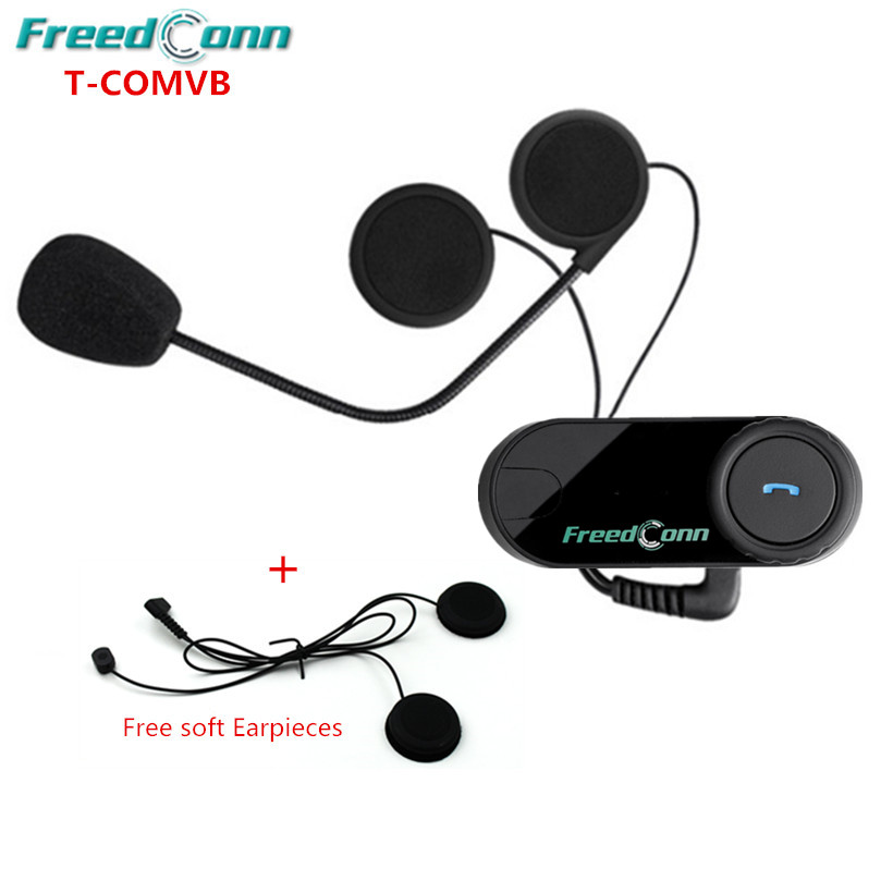<font><b>FreedConn</b></font> Motorrad Motorrad BT <font><b>Bluetooth</b></font> Multi Interphone Headset Half Face Helm <font><b>Intercom</b></font> + FM Radio für volle Helme image