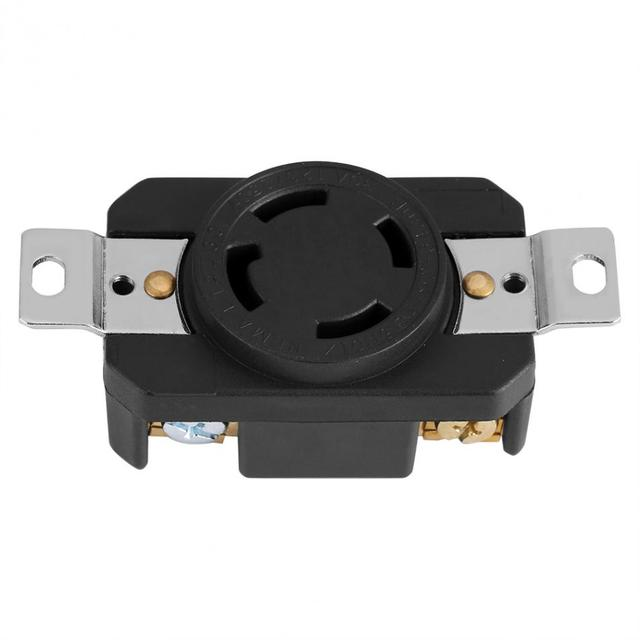 Female Wall Receptacle Industrial Non grounding Electrical Twist ...