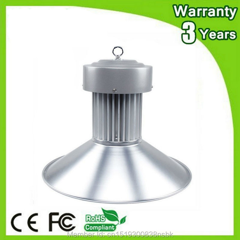 (6PCS/Lot) 85-265V 3 Years Warranty Thick Housing CE RoHS 100W LED High Bay Light Industrial Lamp E40