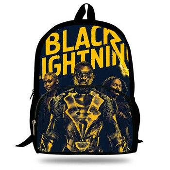 Children Backpacks Sheriff Deadpool Black Lightning Joker Backpack Students Boys Bagpack School Bags For Teenagers Kids Mochila printio sheriff