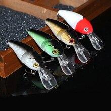 10Pcs/Lot 8.5cm 15g Fishing Wobblers 2 Segments Spinner Minnow Lure Bait Lifelike Swimbait Crankbait Wobblers Fishing Lures Kits