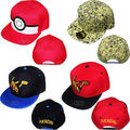 Взрослый и ребенок Покемон Идти Cap Pokemon ash ketchum Шляпа Команды Доблести Команды Мистик Команда Инстинкт Cap Pokemon HatBaseball Caps