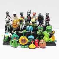 Plantes vs Zombies PVC figurines Action PVZ plante + Zombies Collection figurines jouets meilleurs cadeaux