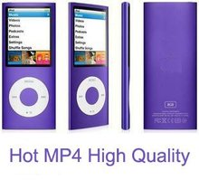 Free Shipping 4th Generation 2GB 4GB 8GB Mp3 player Mp4 player