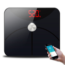 Hot 25 Data Smart Bathroom Weight Scale Electronic Floor Scales Measuring Body Fat Digital Balance Connect