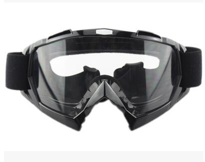Ski Snow Motorcycle Off-Road Racing Goggles Winter Skate Sled ATV Eyewear Motocross DH MTB Glasses Single Lens Clears