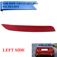 For BMW F30 F35 3 Series 2012 2015 F32 4 Series Left Side Clear Rear Bumper